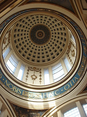 Liverpool Town Hall - Dome - interior