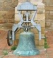 Lleida, campana a l'església de Sant Llorenç.jpg