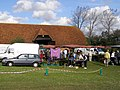 Local producers market at Beufre Barn, New Forest - geograph.org.uk - 256439.jpg