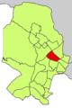 Localització de Son Dameto respecte del Districte de Ponent.png