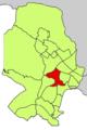 Localització de Son Dureta respecte del Districte de Ponent.png