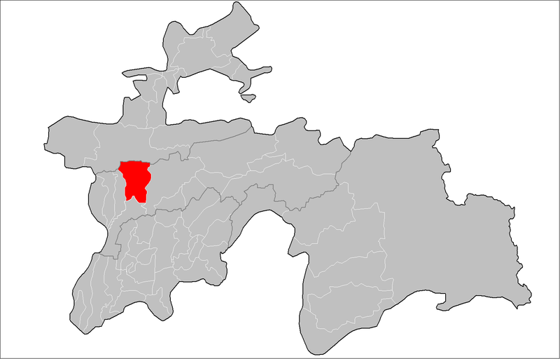 پرونده:Location of Varzob District in Tajikistan.png