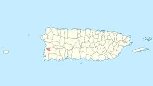Hormigueros, Puerto Rico - Image: Locator map Puerto Rico Hormigueros