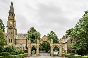 Limeside - Entrance to Hollinwood Cemetery