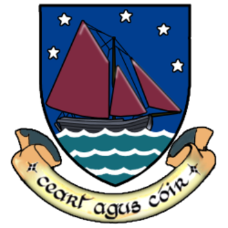 Galway hooker - Hooker depicted on the arms of County Galway.