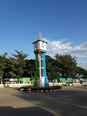 Kayah State - Image: Loikaw clock tower