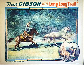 The Long Long Trail - lobby card