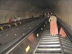 Eskalátor v metre vo washingtone d.c