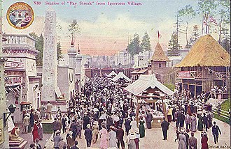 "Alaska–Yukon–Pacific Exposition - Postcard of the ""Pay Streak"""