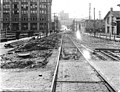 Looking west on Olive Way from 8th Ave showing regrade work, Seattle, Washington, April 8, 1915 (LEE 247).jpeg