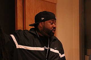 Lord Finesse American rapper and hip-hop record producer