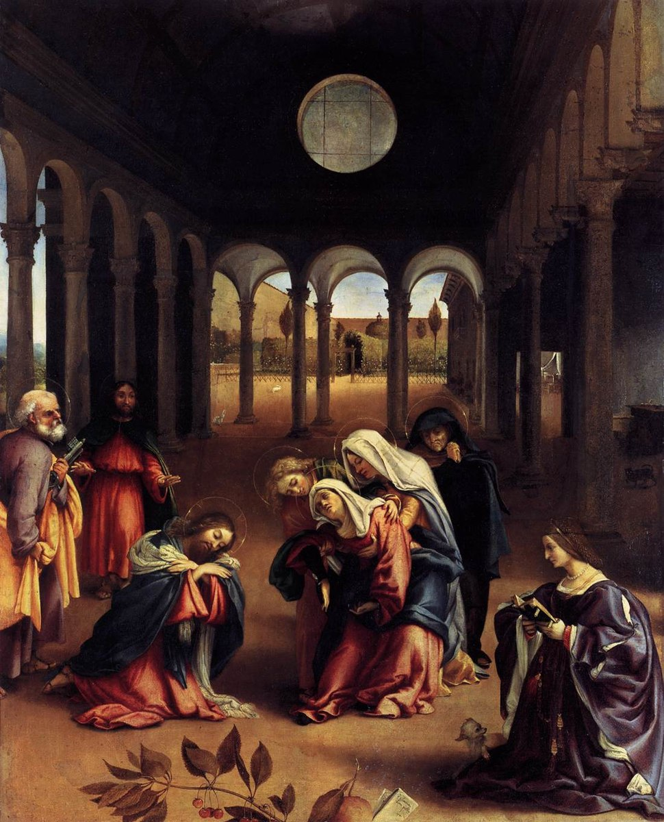 Lorenzo Lotto - Christ Taking Leave of his Mother - WGA13674