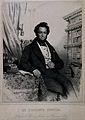 Louis-Joseph Ghislain, Baron Seutin. Lithograph by C. Baugni Wellcome V0005392.jpg