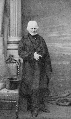 Louis-René Villermé - Louis-René Villermé at the age of 78, in 1860 or 1861