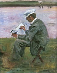 Portrait of the painter Walter Leistikow