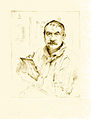 Lovis Corinth Selbstbildnis radierend 1909.jpg