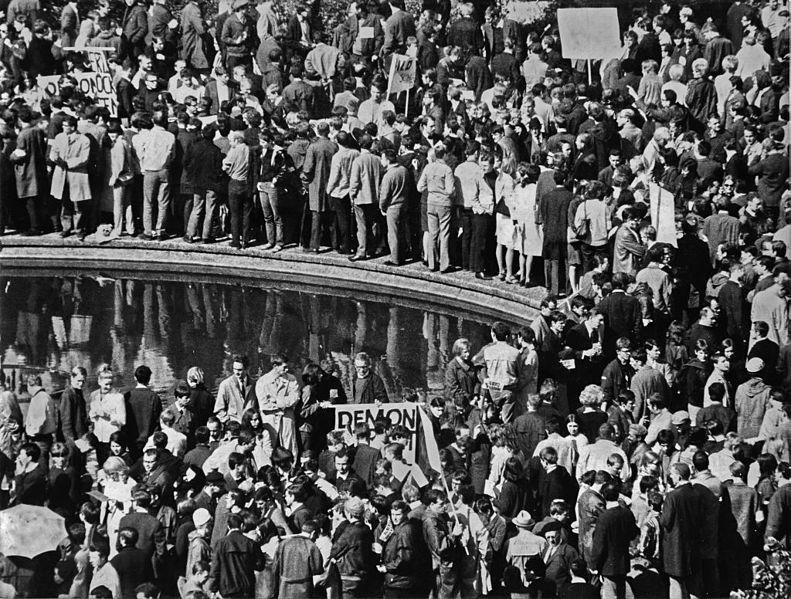 File:Ludwig Binder Haus der Geschichte Studentenrevolte 1968 2001 03 0275.0258 (17085923805).jpg