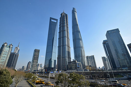 Lujiazui tallest buildings