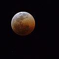 Lunar eclipse with red moon (41869598430).jpg