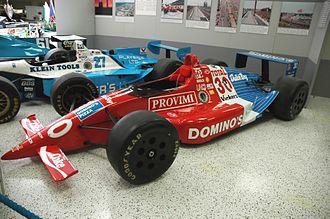 Arie Luyendyk - Luyendyk's Lola-Chevrolet which won the 1990 Indianapolis 500 for Doug Shierson Racing.