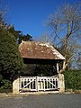 Lych Gate at St Margaret of Antioch, Chilmark - geograph.org.uk - 330856.jpg