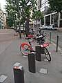 Lyon 3e - Station Vélo'v 3053 Gambetta Jusserand (mai 2019).jpg