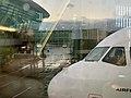 Lyon Saint-Exupéry - vue de la cabine de pilotage de mon vol Lyon-Paris.jpg