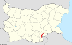 Lyubimets Municipality Within Bulgaria.png