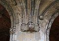 Mènsula danyada del claustre del convent de sant Doménec, València.JPG