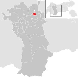 Mötz - Image: Mötz im Bezirk IM