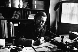 Pierre de Nolhac - Pierre de Nolhac at his desk, 1911