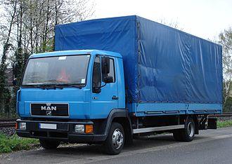 MAN Truck & Bus - L 2000 truck