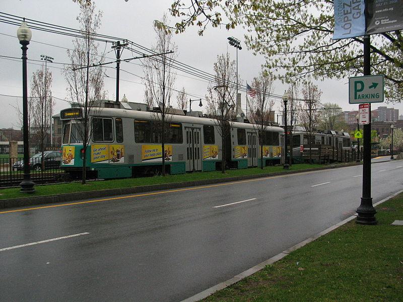 File:MBTA Green Line E.JPG