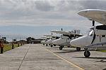 MINISTRO VALAKIVI ENTREGÓ MODERNA FLOTA DE 12 AERONAVES CANADIENSES TWIN OTTER DHC-6 SERIE 400 A LA FUERZA AÉREA DEL PERÚ (18970164103).jpg