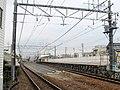 MT-Ajiyoshi Station-Platform (temporary) 6.jpg