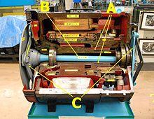 电机空心轴驱动方式