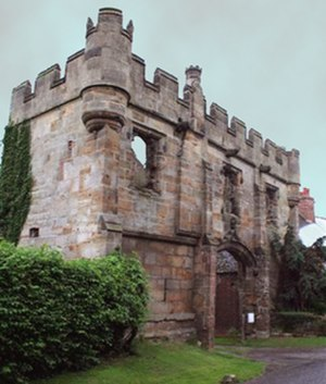 Humphrey Mackworth (Parliamentarian) - Image: Mackworth Castle thumb 205765