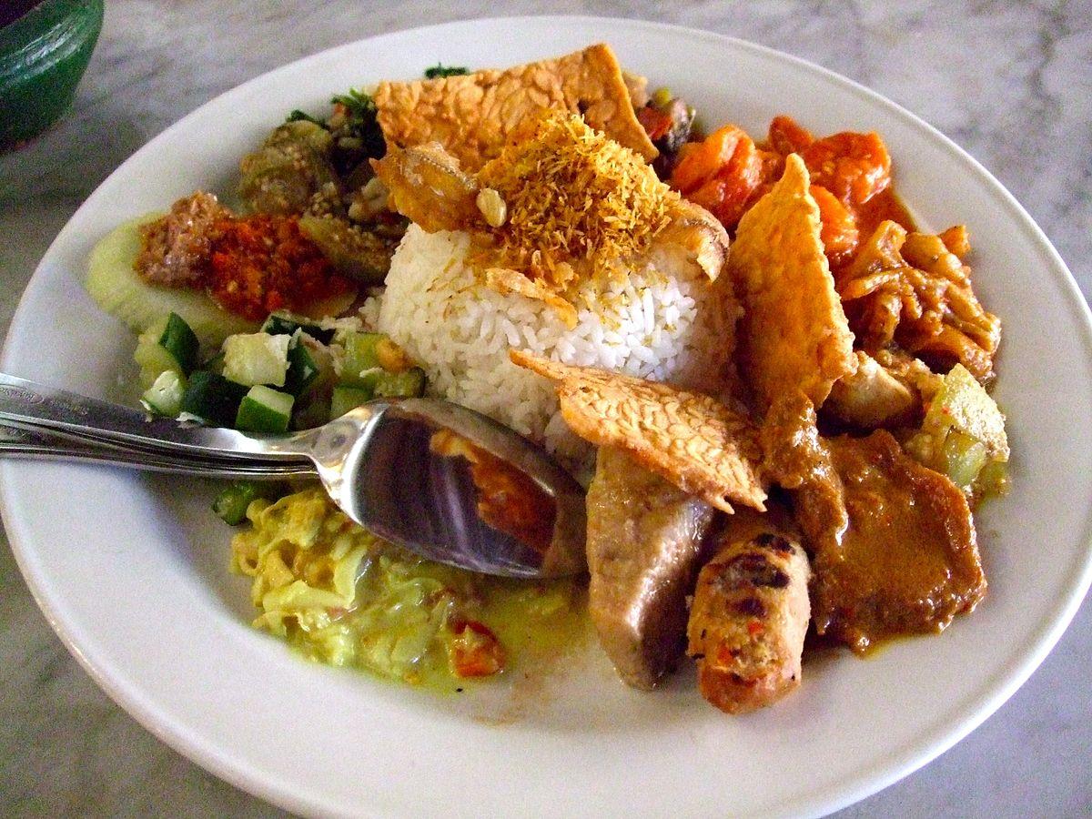 Nasi Campur Wikipedia Bahasa Indonesia Ensiklopedia Bebas