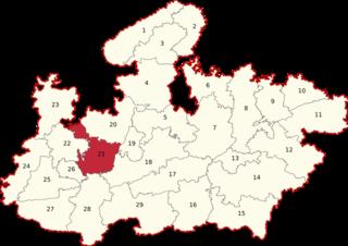Dewas (Lok Sabha constituency) Lok Sabha Constituency in Madhya Pradesh, India