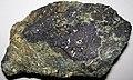 Magnetite-pyrite-actinolite rock (Jurassic, 156-162 Ma; Mina 5, Marcona Magnetite Deposit, Ica Department, Peru) 3.jpg