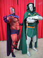 Magneto and Dr Doom cosplay.jpg