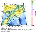 Magnitude 7.7 - KORYAKIA, RUSSIA 2006 April 20 23-25-05 UTC map.jpg