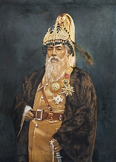 Nepalese head of state (b. 1865, d. 1932)