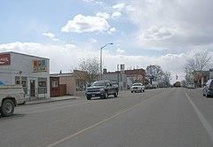 Main Street in Kuna in 2008