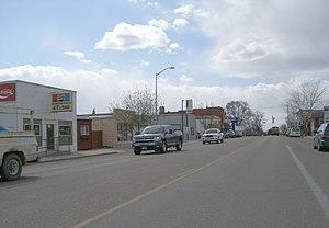 Kuna, Idaho - Main Street in Kuna in 2008