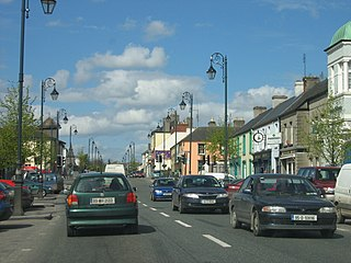 Abbeyleix Town in Leinster, Ireland
