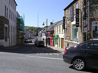 Lifford - The Main Street in Lifford.