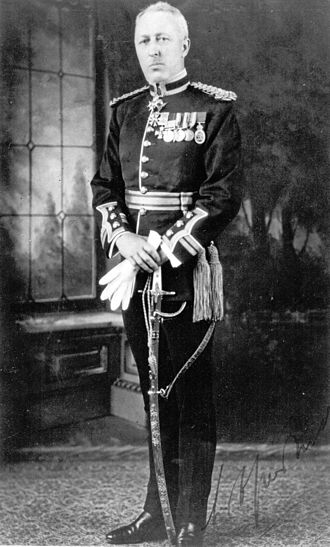 William Antrobus Griesbach - Griesbach in Full Dress as Inspector-General