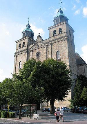 Malmedy - Cathedral of Malmedy.