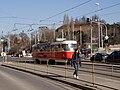 Malovanka, tramvajová zastávka z centra.jpg